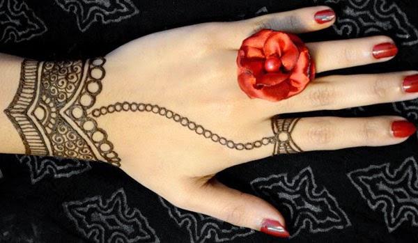 Simple Mehndi Designs Wedding Fashion